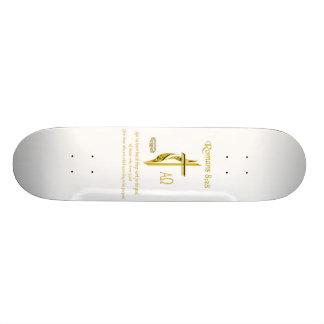 Romans 8:28 Christian merchandise Skate Board Decks