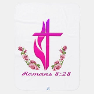 Romans 8:28 christian products baby blankets