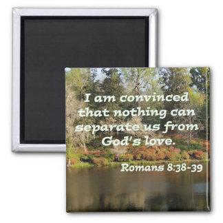Romans 8:38-39 magnet