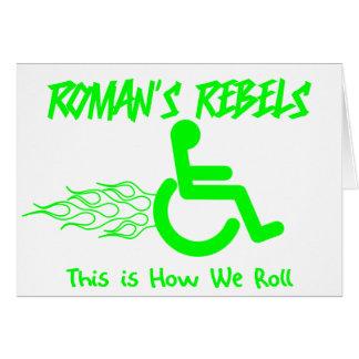Roman's Rebels Cards