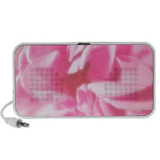 Romantic Abstract Rose Petals Notebook Speakers