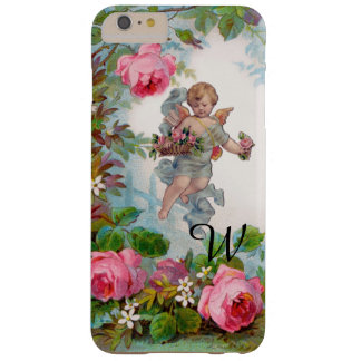 ROMANTIC ANGEL GATHERING PINK ROSES AND FLOWERS BARELY THERE iPhone 6 PLUS CASE