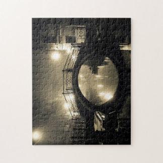 Romantic Arched Bridge At Twilight Jigsaw Puzzle