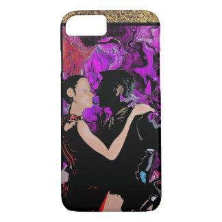 Romantic Art Deco style dancers iPhone 8/7 Case