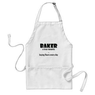 Romantic Baker Adult Apron