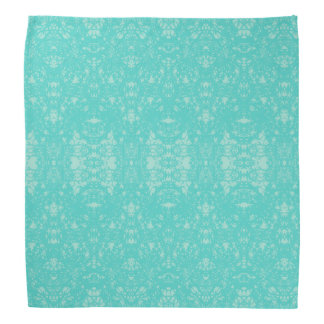 romantic bandana abstract coloured turquoise blue