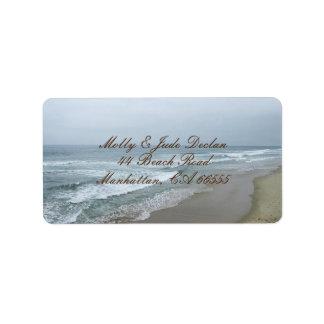 Romantic Beach Label