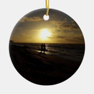 Romantic Beach Ornament