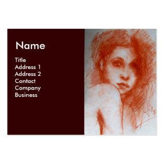 ROMANTIC BEAUTY BUSINESS CARD