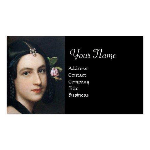 ROMANTIC BEAUTY,Salon Spa, Makeup Artist , Pearl Business Cards