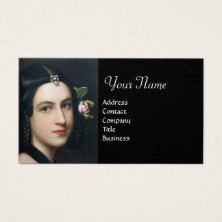 ROMANTIC BEAUTY,Salon Spa, Makeup Artist , Pearl Business Card