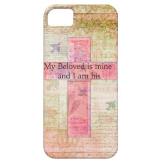 Romantic Bible verse Song of Solomon 2:16 iPhone 5 Cases