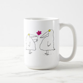 Romantic Birds Coffee Mug