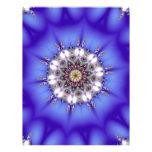 Romantic Blue Kaleidoscope Personalized Flyer