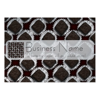 Romantic Box of Chocolates Pack Of Chubby Business Cards