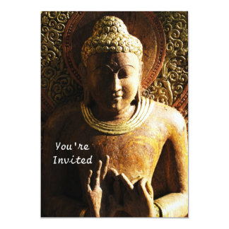 Romantic Buddhist invitations