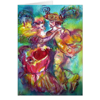 ROMANTIC CARNIVAL DANCE / Valentine's Day Card