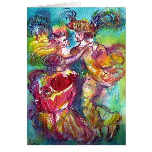 ROMANTIC CARNIVAL DANCE / Valentine's Day Cards