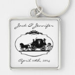 Romantic Carriage Keychain