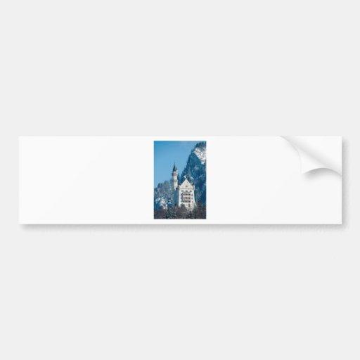 Romantic Castle Bumper Sticker