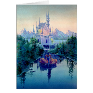 ROMANTIC CASTLE CARD