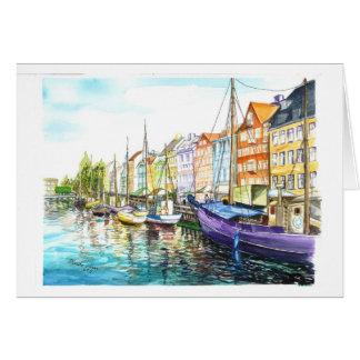 Romantic Copenhagen Greeting Card