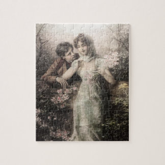 """ROMANTIC COUPLE 8""""x10"""" Photo Puzzle with Gift Box"""