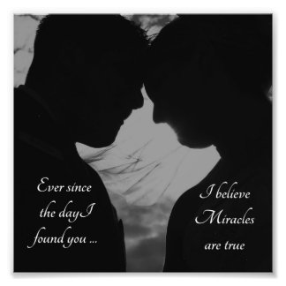 Romantic Couple I Love You Photo Print