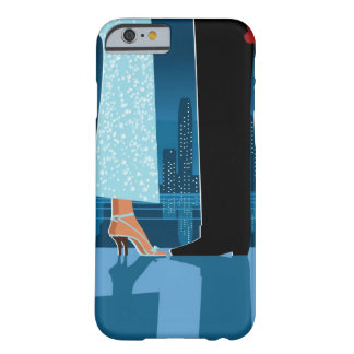Romantic Couple in City Barely There iPhone 6 Case