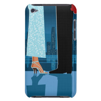 Romantic Couple in City Barely There iPod Cover