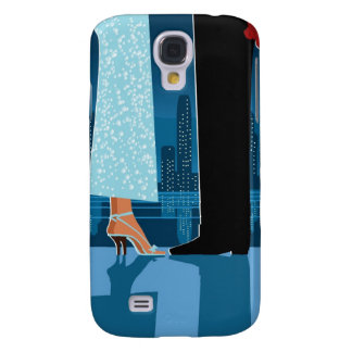 Romantic Couple in City Galaxy S4 Case