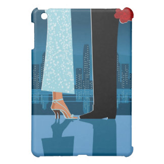 Romantic Couple in City iPad Mini Cover