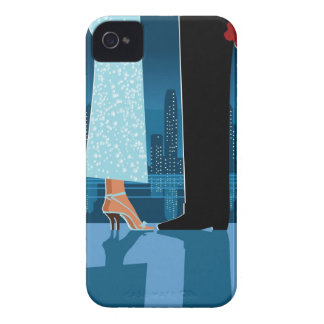 Romantic Couple in City iPhone 4 Covers