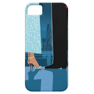 Romantic Couple in City iPhone 5 Covers