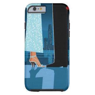 Romantic Couple in City Tough iPhone 6 Case