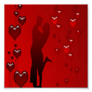 Romantic Couple Poster