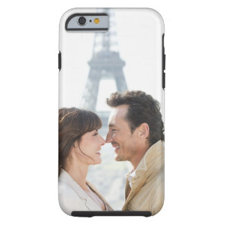 Romantic couple with the Eiffel Tower in the Tough iPhone 6 Case