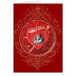 Romantic Cupid Valentine's Card