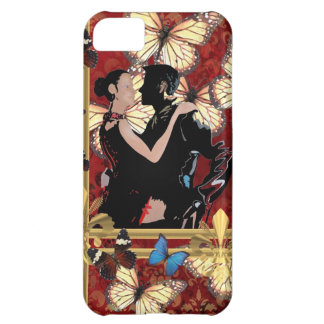 Romantic dancers and butterflies iPhone 5C case