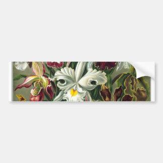 romantic date blossoms rsvp colorful chic bumper sticker
