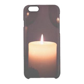 romantic date clear iPhone 6/6S case