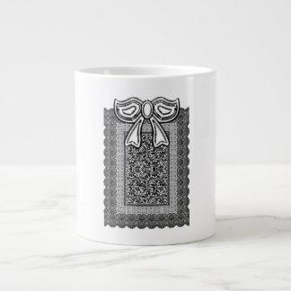 Romantic design large coffee mug