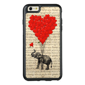 Romantic elephant heart OtterBox iPhone 6/6s plus case