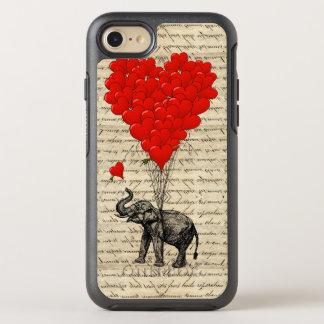 Romantic elephant heart OtterBox symmetry iPhone 8/7 case