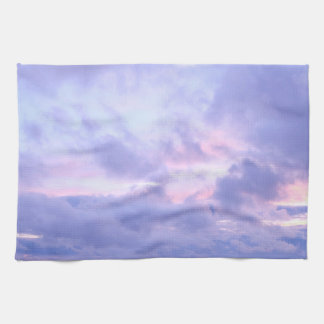 Romantic Evening Sky Tea Towel