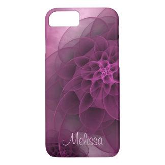 Romantic Floral in Wine iPhone 8/7 Case