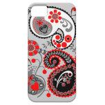 Romantic Floral Paisley retro iPhone 5 case