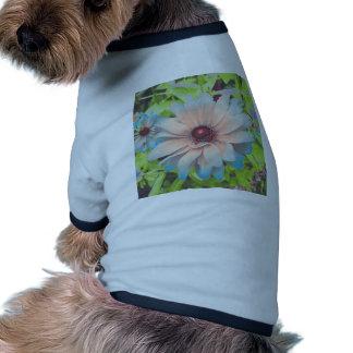 Romantic Flowers Dog Tee Shirt
