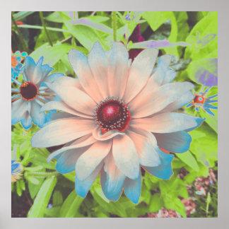 Romantic Flowers Print