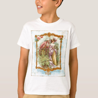 Romantic French Couple 18th Century Tees